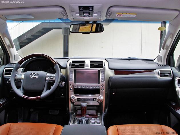 雷克萨斯GX400豪华版上市 售价84.8万元