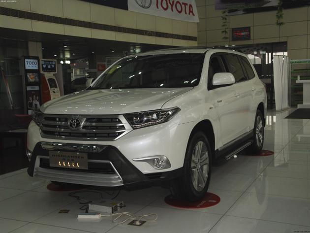 汉兰达三明地区购车优惠2万元 现车在售