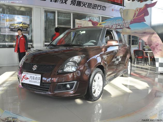 温州铃木雨燕最高让利0.5万元 现车销售