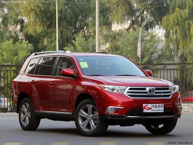 广汽丰田汉兰达优惠1.8万起 现车在售中