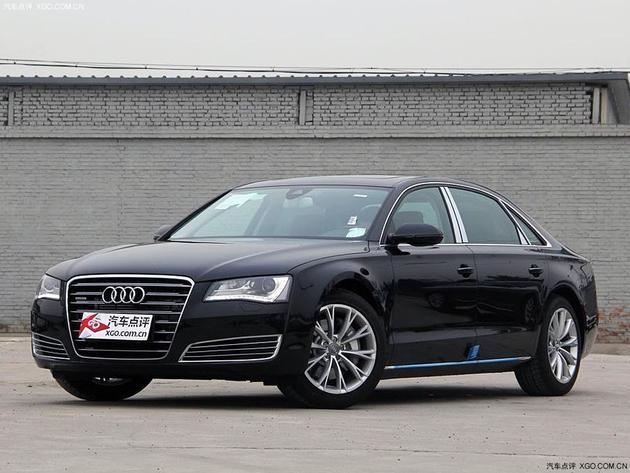 奥迪A8L降18.48万元起 少量现车在售中