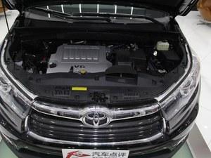 7座中大型SUV 丰田汉兰达最低售23.98万