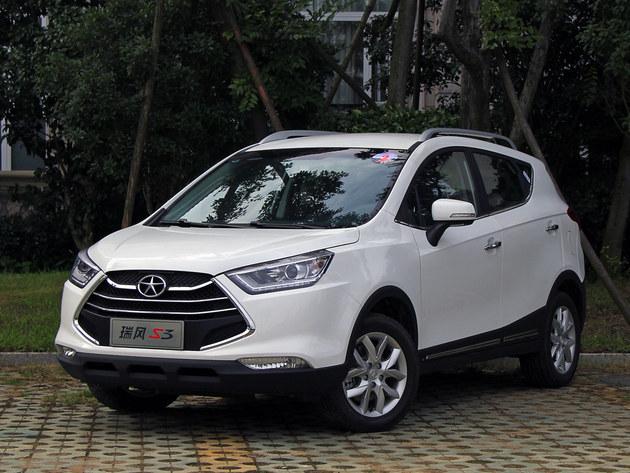 江淮瑞风S3暂无优惠 最低7.88万元起售