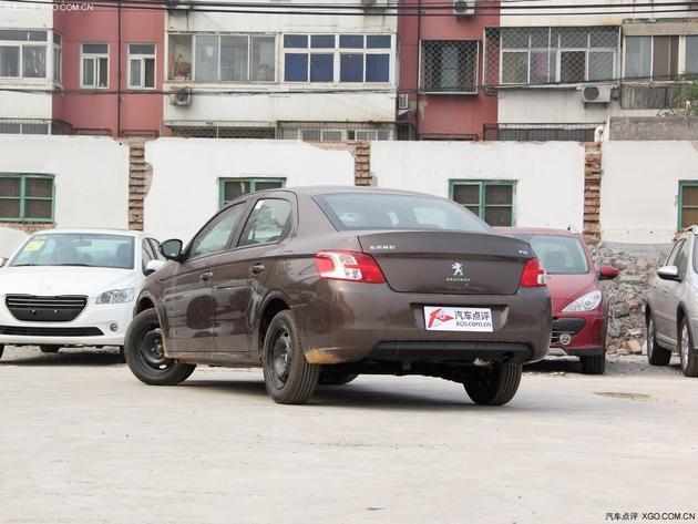 东风标致301 cng双燃料版上市 售9.57万