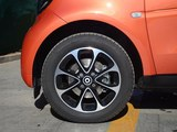 smart fortwo车轮