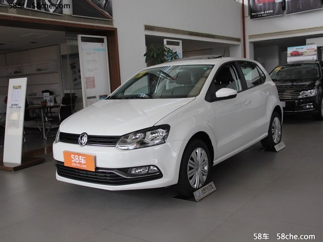 武汉大众Polo最高优惠1.1万 店内现车