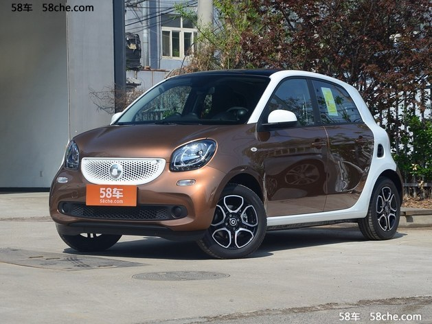Smart forfour新型报价 上海优惠2.5万