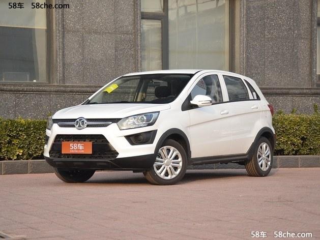 上海绅宝X25裸车价格 现车优惠0.1万元