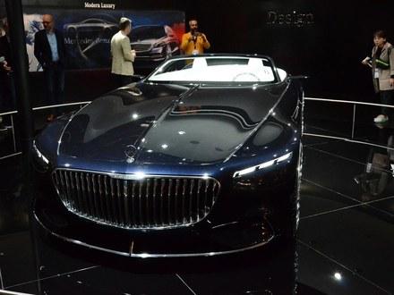 奔驰 Vision Mercedes-Maybach 6