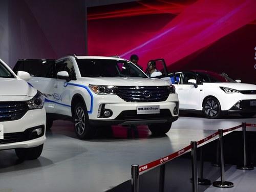 广汽传祺传祺GS4新能源车身外观