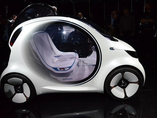 smartsmart fortwo车身外观