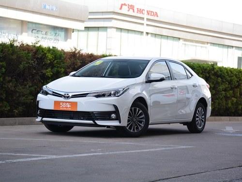 2017款 卡罗拉 改款 1.2T CVT GL
