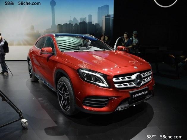奔驰GLA部分车型优惠3.5万元 少量现车