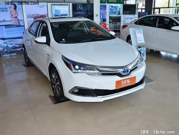 武汉丰田卡罗拉最高优惠1.2万 现车充足