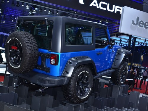 Jeep牧马人车身外观