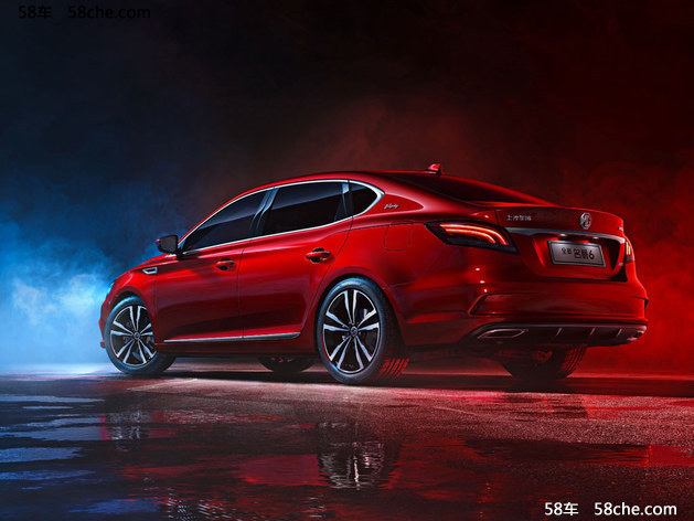 全新名爵6将于11月3日上市 定位紧凑型轿车