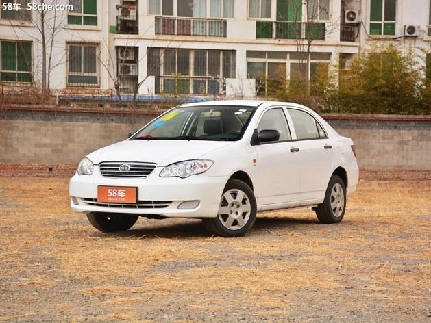 比亚迪F3天津1月报价 售价3.56万元起