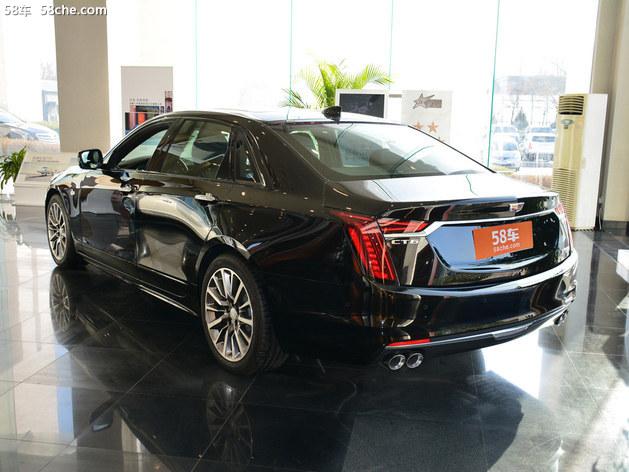 凯迪拉克CT6火热促销中 上海优惠8万元
