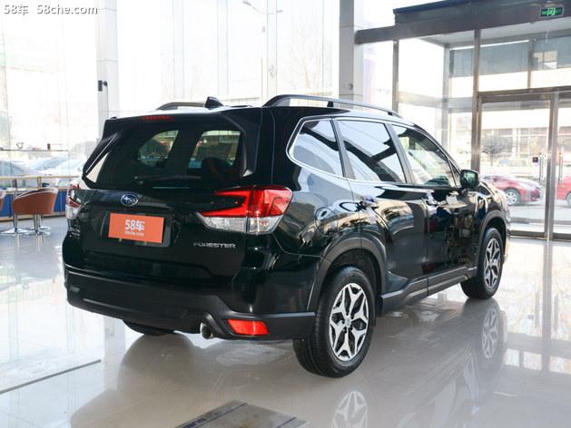 斯巴鲁森林人火热促销 现车优惠1.3万元