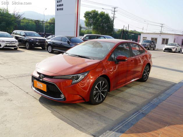 丰田雷凌 目前价格 现金直降0.1万元