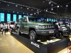 2018款 北京BJ40 40L 2.0T 手动柴油四驱尊贵版