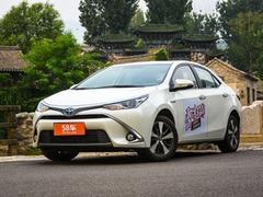 2016款 雷凌 双擎 1.8H V CVT豪华版