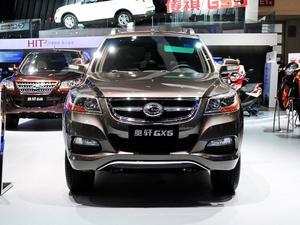 2012款 奥轩GX5 2.4 汽油自动四驱天窗版