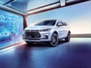 2019款 比亚迪 唐新能源 EV600 两驱智联创享型 5座