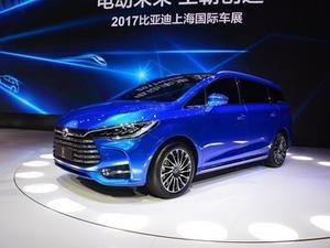 2017缓 宋MAX 1.5T 机动智联豪华型 7所