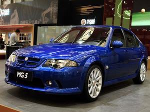 2012款 MG 5 1.5L MT风尚版