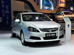 2011款 长安CX30 三厢 1.6 MT豪华低碳版