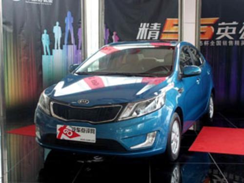 2011款 起亚K2 三厢1.4 GLS AT