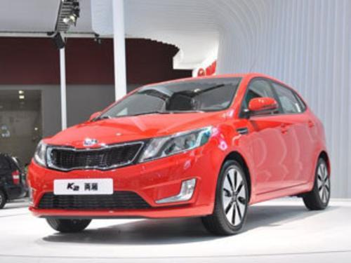 2012款 起亚K2 两厢 1.6 Premium AT