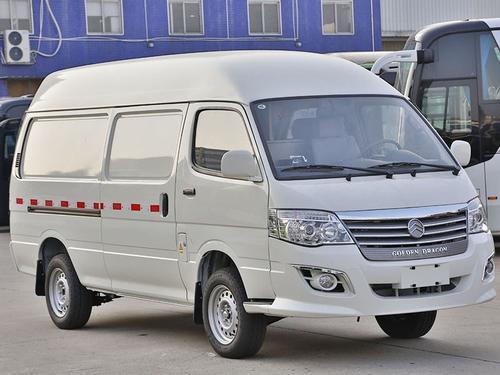 金旅海狮新能源 XML5036XXYEVL0型纯电动厢式运输车